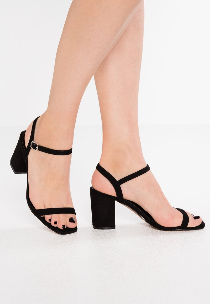 Glamorous - Sandály - black