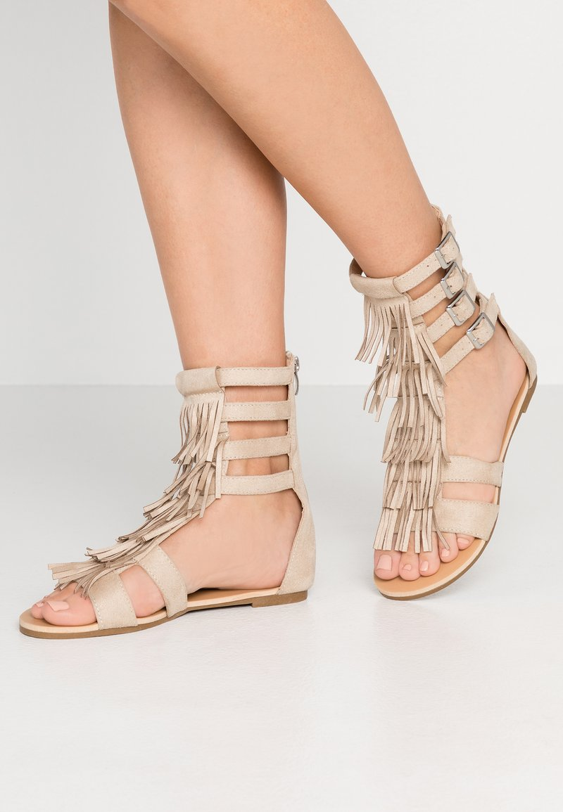 Glamorous - Ankle cuff sandals - offwhite