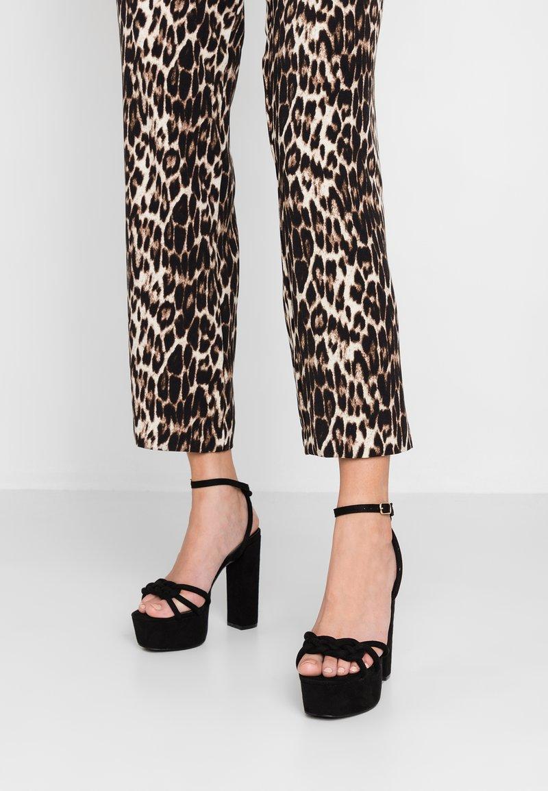 Glamorous - High Heel Sandalette - plain black