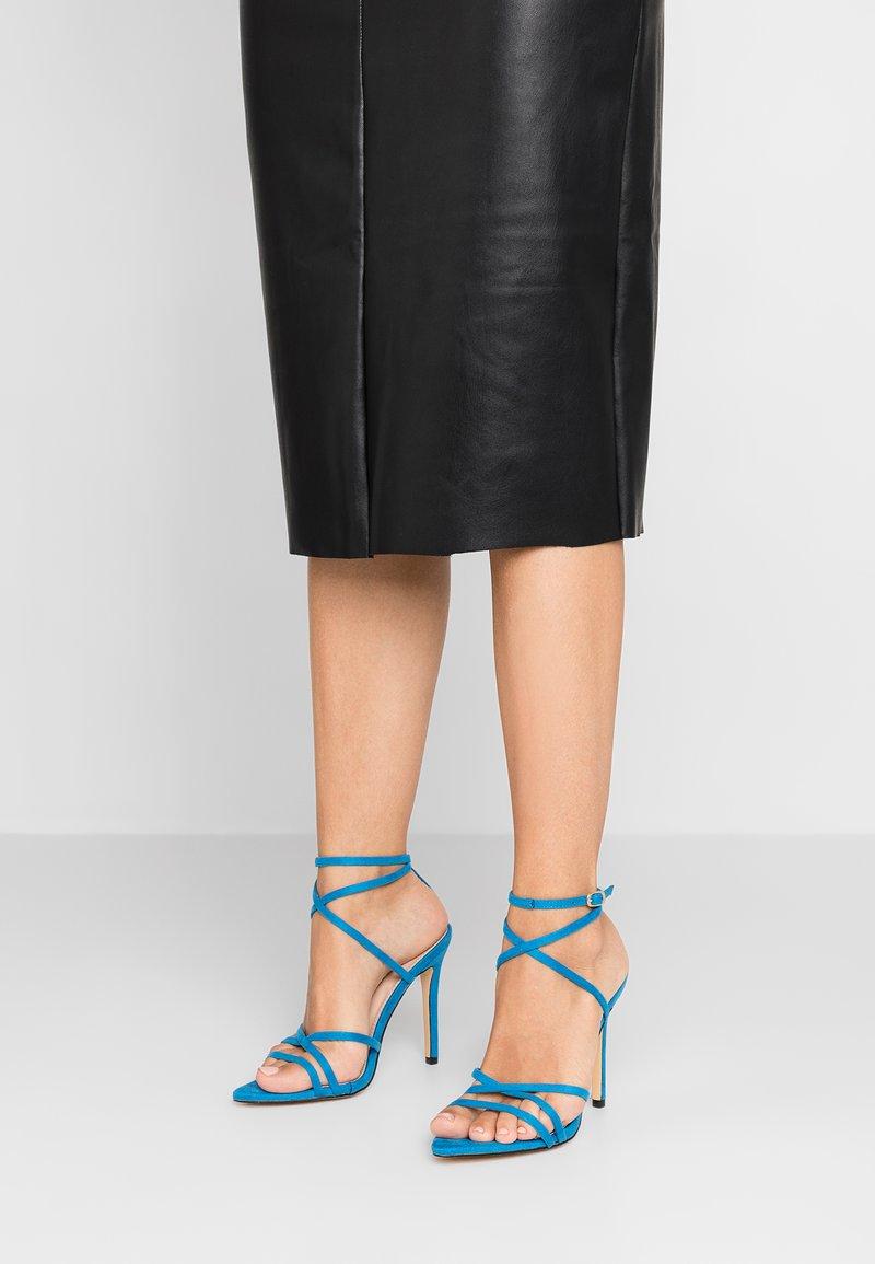 Glamorous - Sandales à talons hauts - blue
