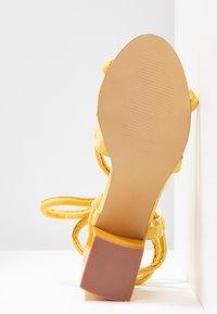 Glamorous - Sandales - yellow - 6