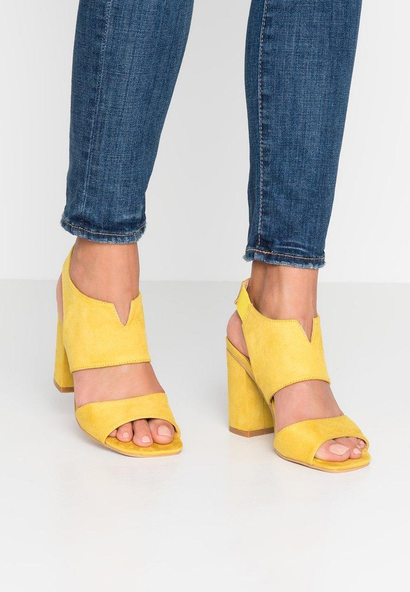 Glamorous - Højhælede sandaletter / Højhælede sandaler - yellow