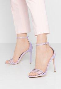 Glamorous - Sandály na vysokém podpatku - lilac - 0