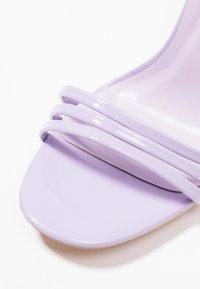 Glamorous - Sandály na vysokém podpatku - lilac - 2