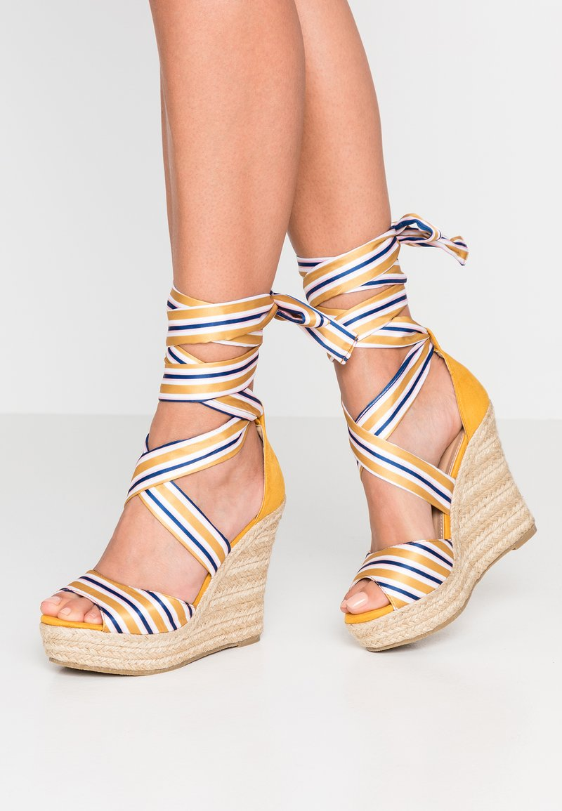 Glamorous - High heeled sandals - yellow