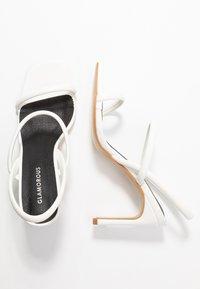 Glamorous - Sandales à talons hauts - white - 3