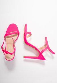 Glamorous - Sandaler med høye hæler - fuschia - 3