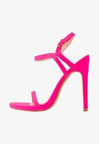 Glamorous - Sandaler med høye hæler - fuschia - 1