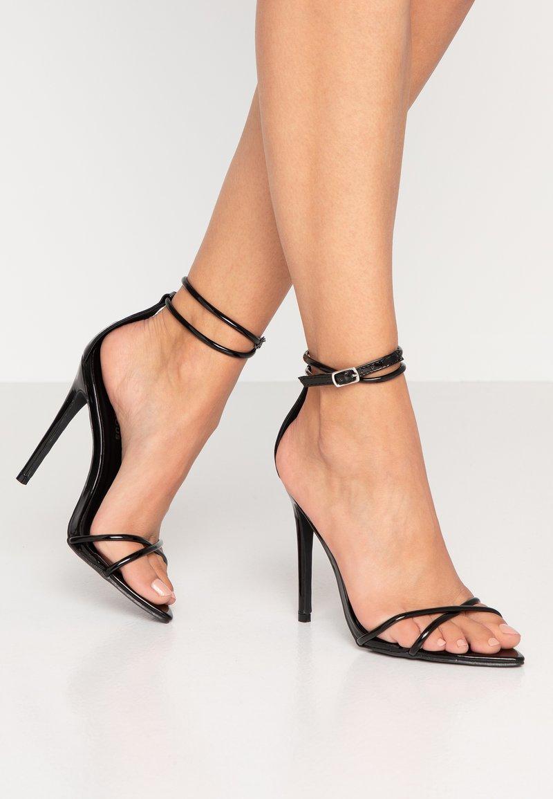 Glamorous - Sandali con tacco - black