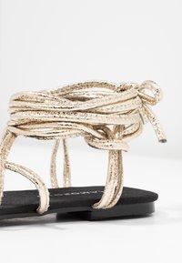 Glamorous - Sandales - gold - 2