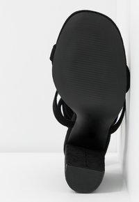 Glamorous - Sandales à talons hauts - black - 6