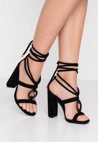 Glamorous - Sandales à talons hauts - black - 0