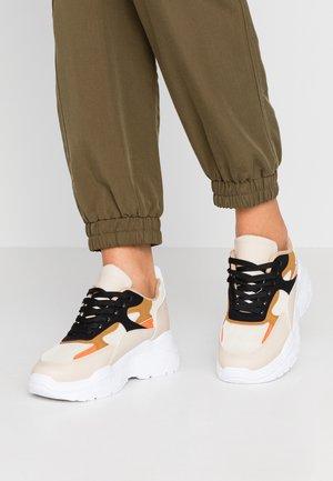 Sneakers - beige/multicolor