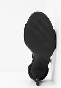 Glamorous - Sandaler med høye hæler - black - 6