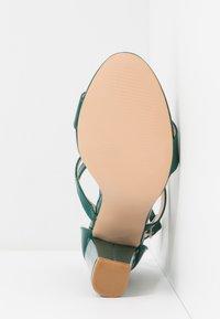 Glamorous - Sandály na vysokém podpatku - green - 6