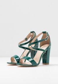 Glamorous - Sandály na vysokém podpatku - green - 4