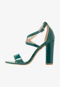 Glamorous - Sandály na vysokém podpatku - green - 1