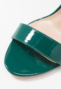 Glamorous - Sandály na vysokém podpatku - green - 2