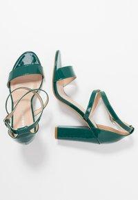 Glamorous - Sandály na vysokém podpatku - green - 3