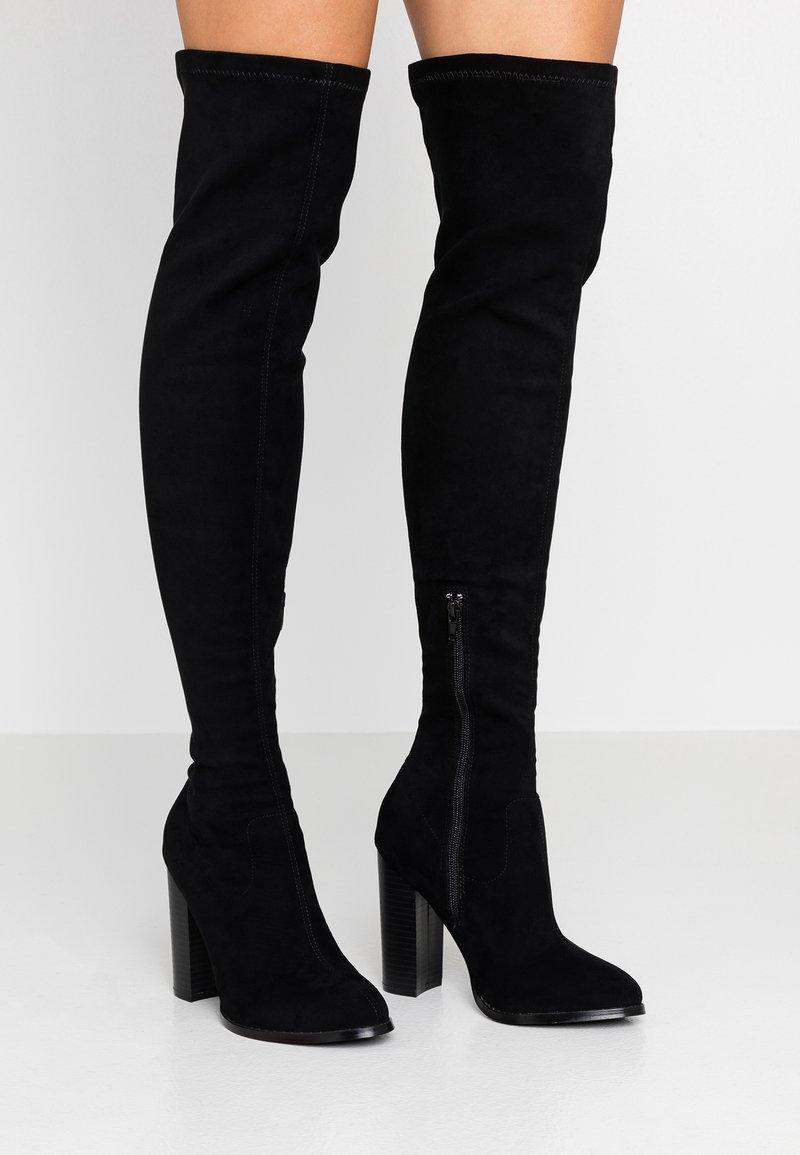 Glamorous - Bottes à talons hauts - black