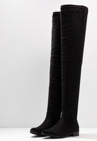 Glamorous - Botas mosqueteras - black - 4