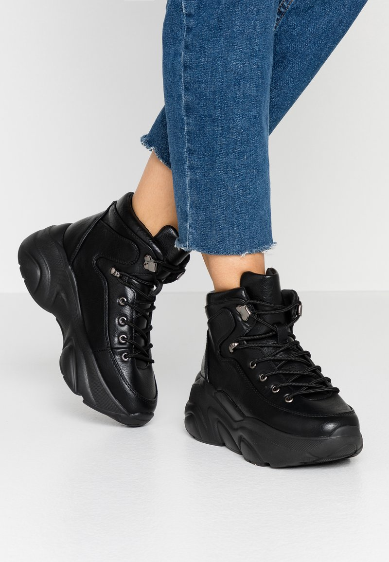 Glamorous - High-top trainers - black