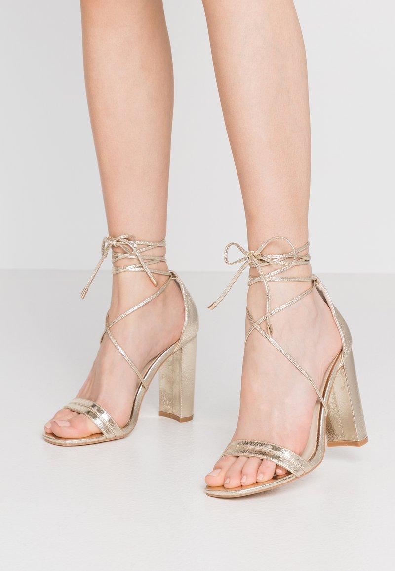 Glamorous - High heeled sandals - gold