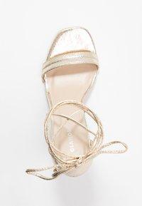 Glamorous - High heeled sandals - gold - 3