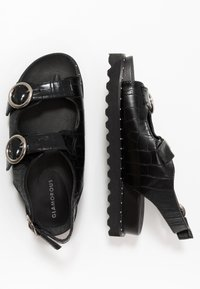 Glamorous - Platform sandals - black - 3