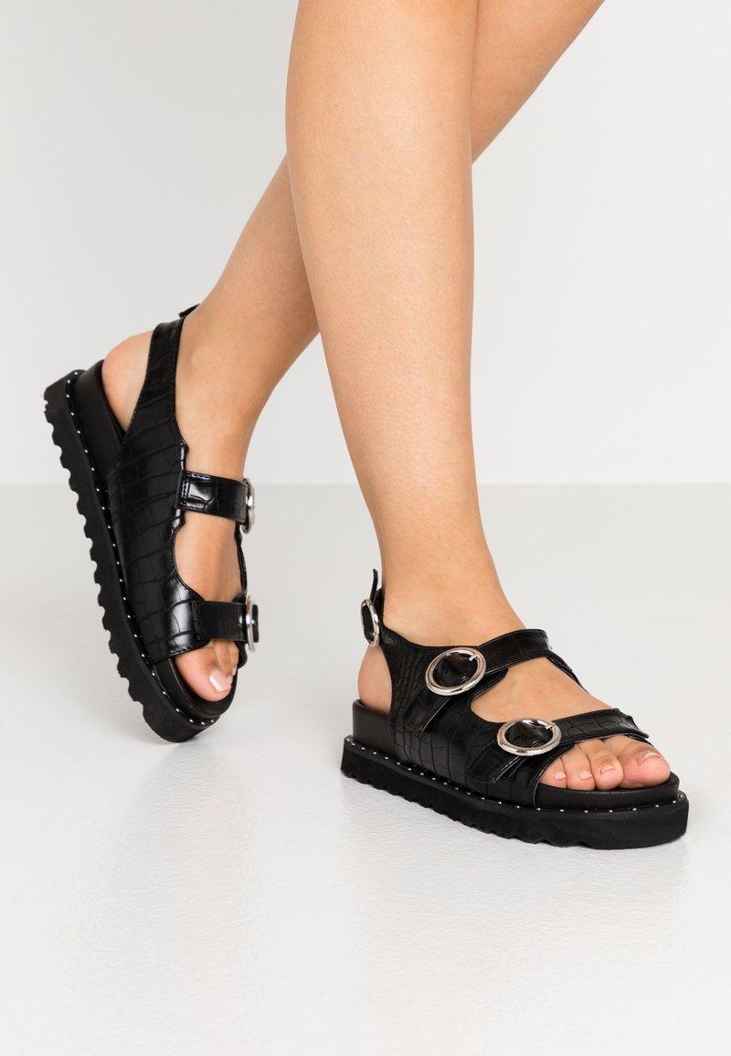 Glamorous - Platform sandals - black