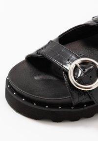 Glamorous - Platform sandals - black - 2