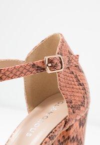 Glamorous - High heels - peach - 2