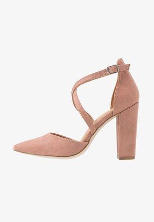 High Heel Pumps - blush