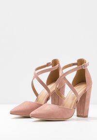 Glamorous - High heels - blush - 4