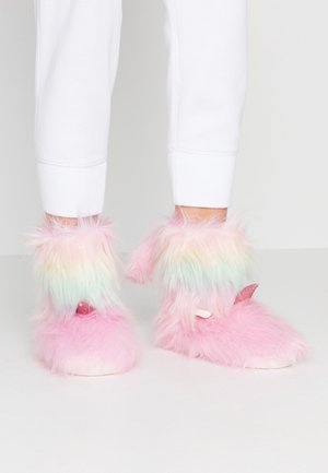 Slippers - rainbow
