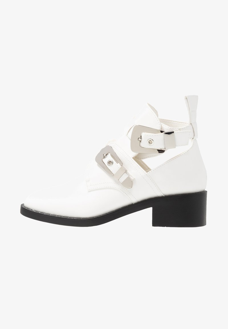 Glamorous - Classic ankle boots - white