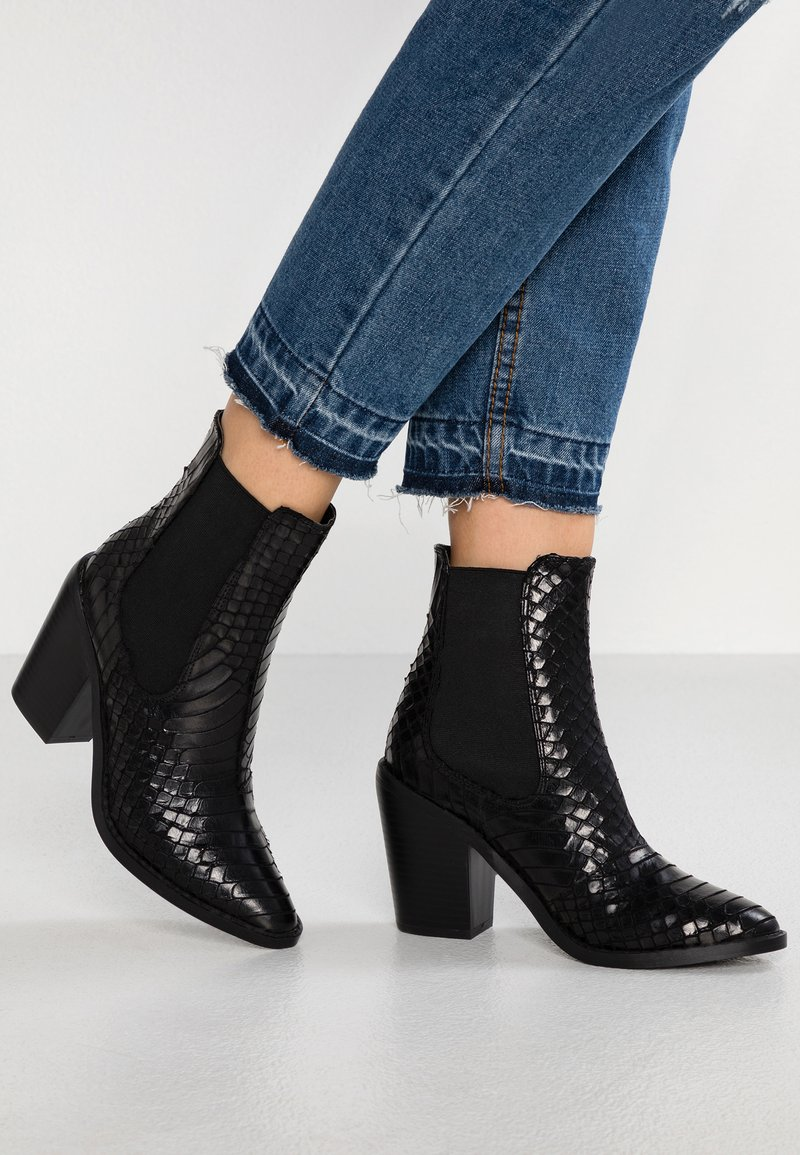 Glamorous - Kotníková obuv na vysokém podpatku - black