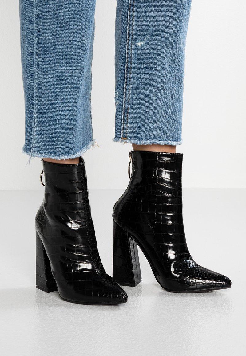 Glamorous - Stiefelette - black