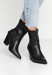 Glamorous - Ankelboots med høye hæler - black - 0