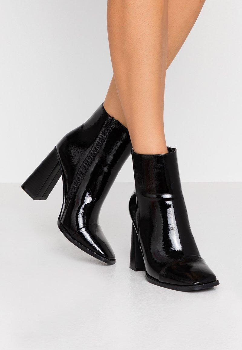 Glamorous - Bottines à talons hauts - black
