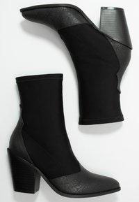 Glamorous - Stivaletti con tacco - black - 3