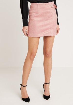 Minisukně - dusty pink