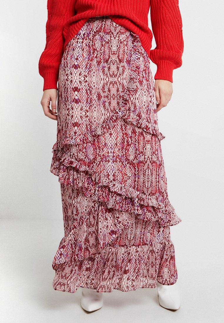 Glamorous - Maxi sukně - raspberry