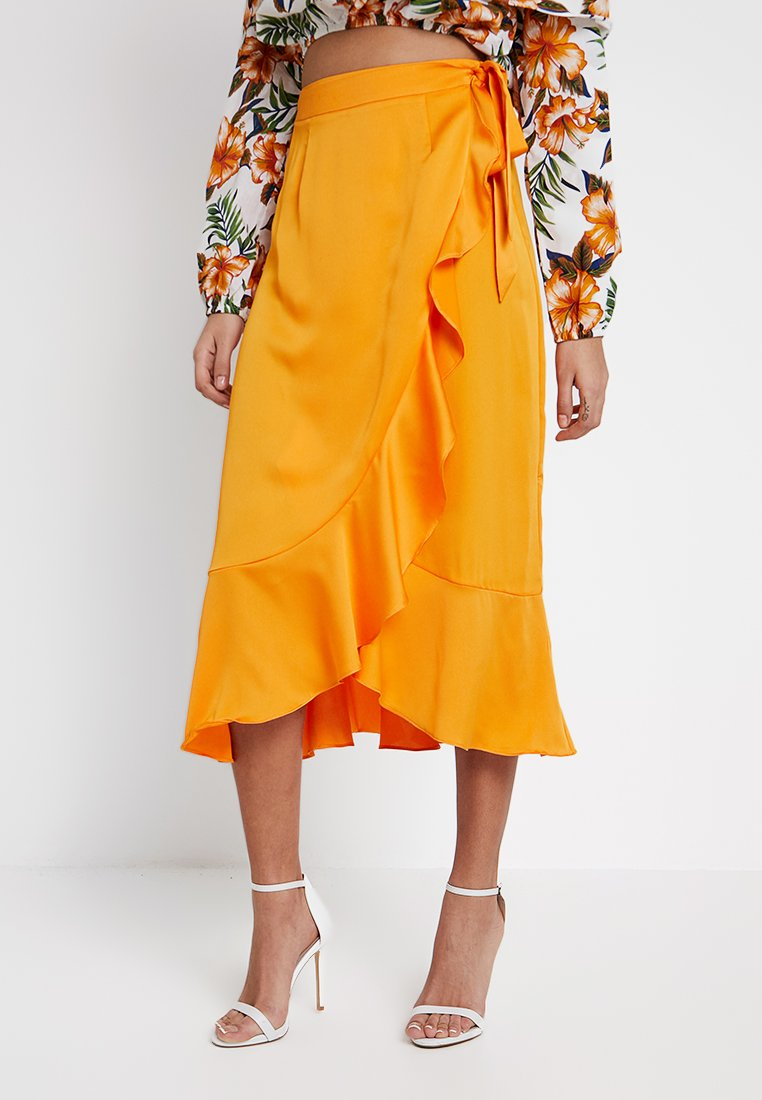 Glamorous - EXCLUSIVE SUMMER CAPSULE - Falda cruzada - orange