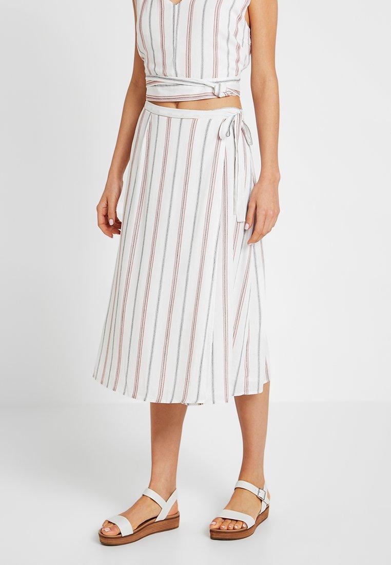 Glamorous - Wrap skirt - white