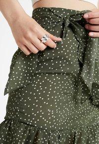 Glamorous - A-snit nederdel/ A-formede nederdele - dark green - 4