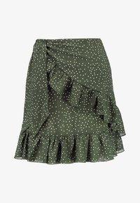 Glamorous - A-snit nederdel/ A-formede nederdele - dark green - 3