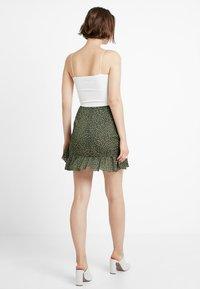 Glamorous - A-snit nederdel/ A-formede nederdele - dark green - 2