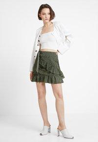 Glamorous - A-snit nederdel/ A-formede nederdele - dark green - 1