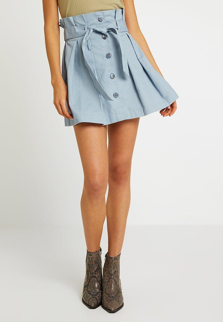 Glamorous - A-line skirt - pale blue